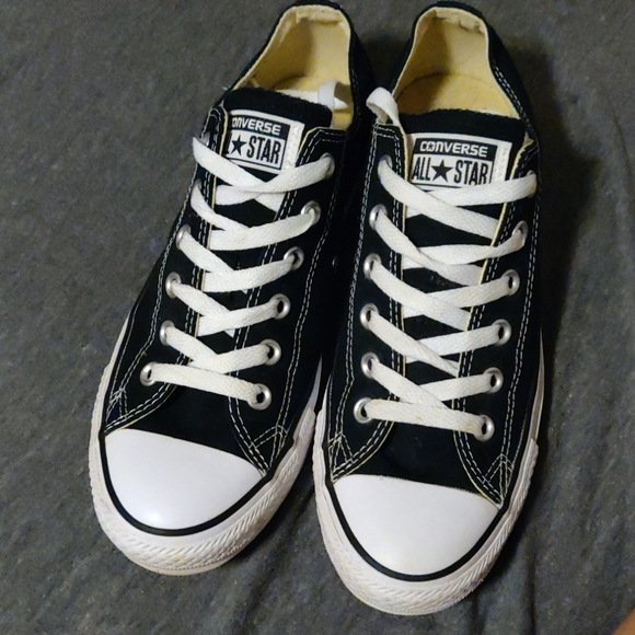 Converse Shoes - Converse Black Sneakers